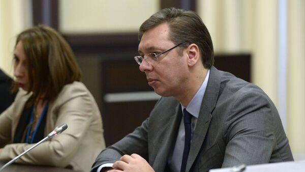 Aleksandar Vucic - Sputnik Mundo