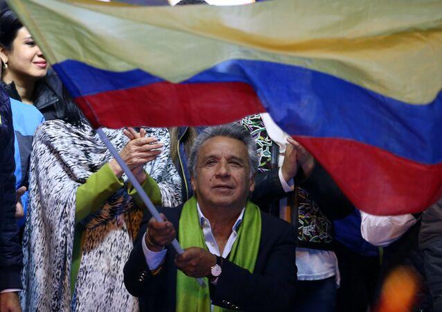 Lenin Moreno, presidente de Ecuador (archivo)