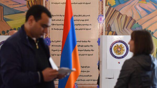 Elecciones parlamentarias en Armenia - Sputnik Mundo
