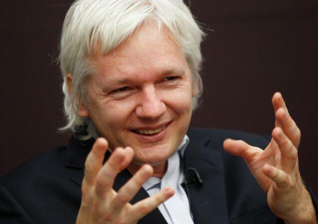 El fundador de WikiLeaks Julian Assange