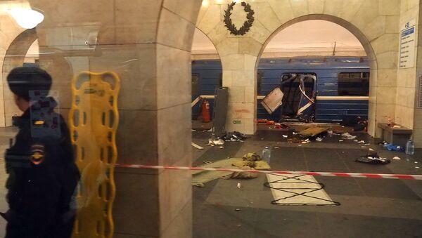 Explosión en el metro de San Petersburgo - Sputnik Mundo