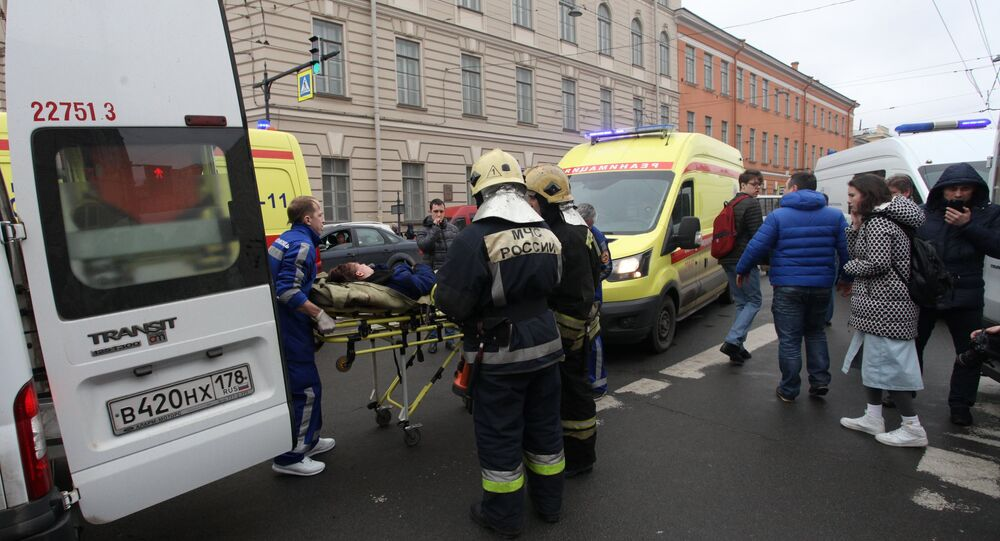 Un herido tras explosión en el metro de San Petersburgo (archivo)