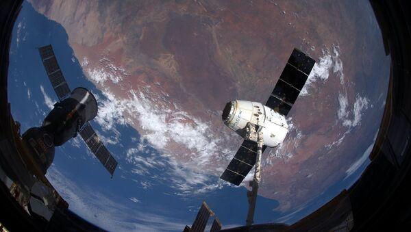 El carguero Dragon - Sputnik Mundo