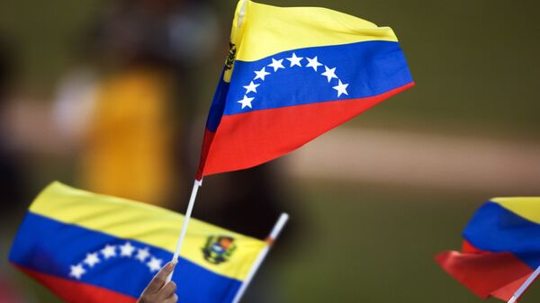 Banderas de Venezuela (archivo) - Sputnik Mundo