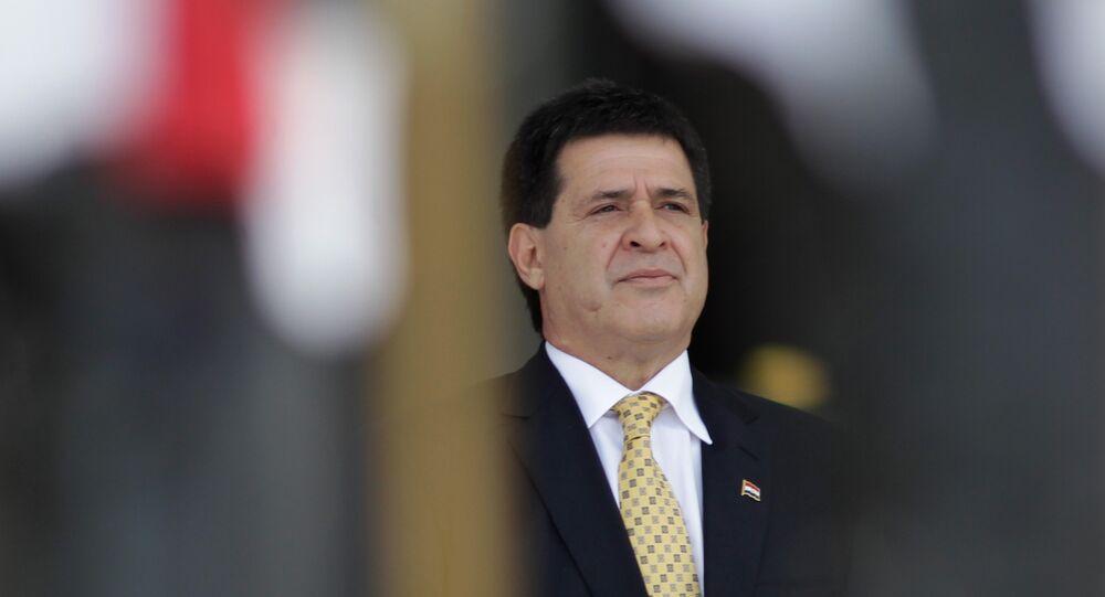 Horacio Cartes, expresidente de Paraguay (archivo)