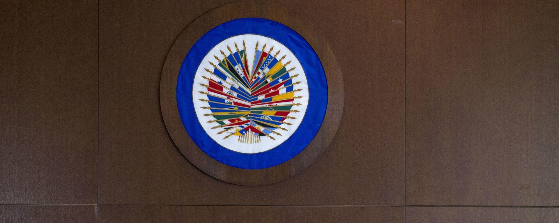Logo de OEA - Sputnik Mundo, 1920, 26.05.2021