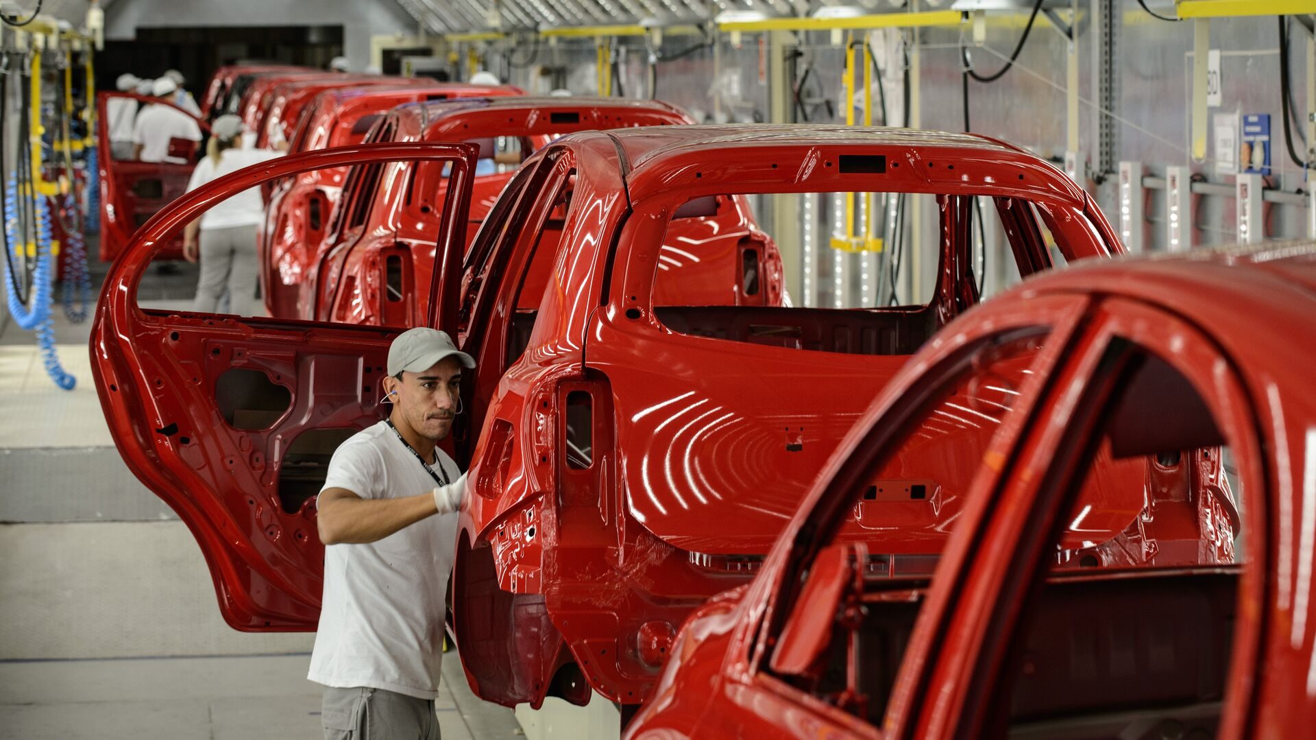 Una planta de Nissan en Brasil  - Sputnik Mundo, 1920, 23.05.2021