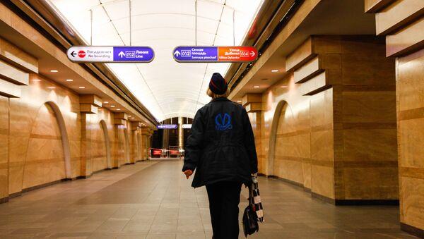 Metro de San Petersburgo - Sputnik Mundo