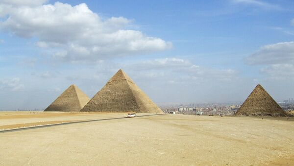 Las pirámides de Giza, Egipto (imagen referencial) - Sputnik Mundo