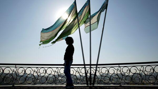 Las banderas de Uzbekistán (archivo) - Sputnik Mundo