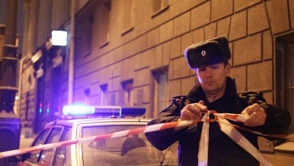 Fuerzas del orden de San Petersburgo - Sputnik Mundo