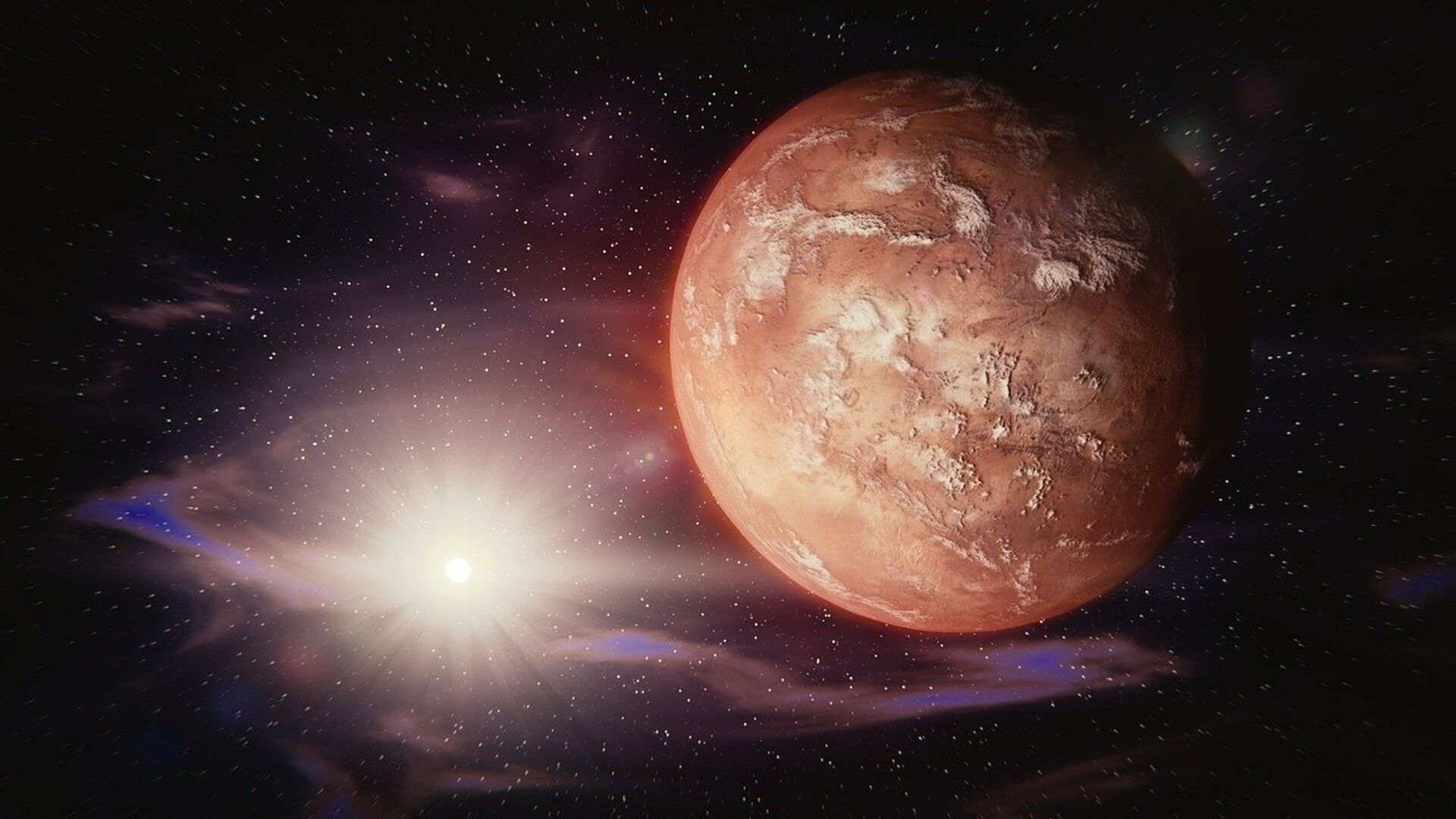 El Marte (imagen ilustrativa) - Sputnik Mundo, 1920, 01.03.2021