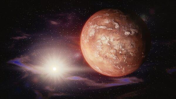 El Marte (imagen ilustrativa) - Sputnik Mundo