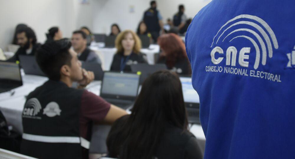 Miembro del CNE de Ecuador
