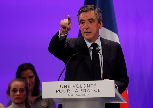 François Fillon, candidato presidencial francés