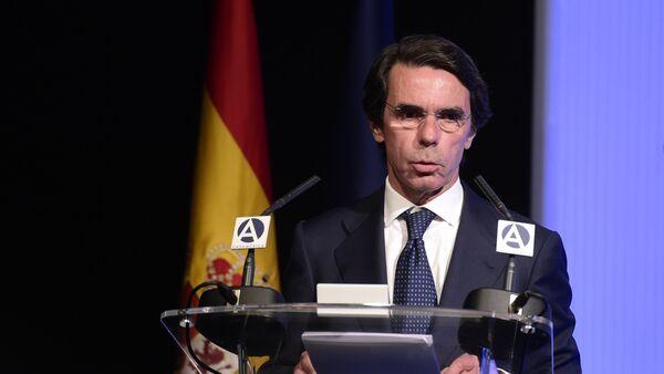 Jose María Aznar, expresidente de España - Sputnik Mundo