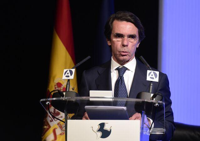 Jose María Aznar, expresidente de España (archivo)