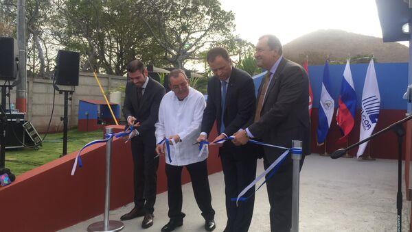 Nicaragua y Rusia inauguran estación de monitoreo satelital GLONASS - Sputnik Mundo