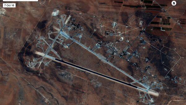 Base siria de Shairat - Sputnik Mundo