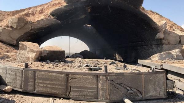Publican imágenes de las consecuencias del ataque de EEUU a Siria - Sputnik Mundo