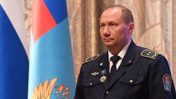 El conductor Alexandr Kaverin - Sputnik Mundo