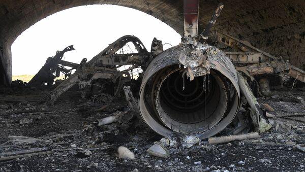 Consecuencias del bombardeo de EEUU en Shairat - Sputnik Mundo