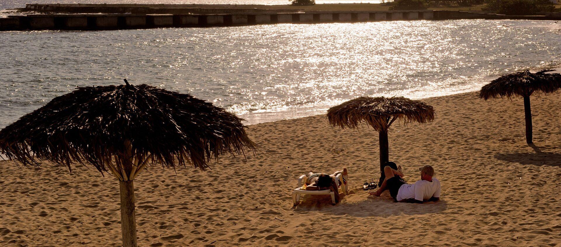 Una playa en Cuba (imagen referencial) - Sputnik Mundo, 1920, 26.08.2017