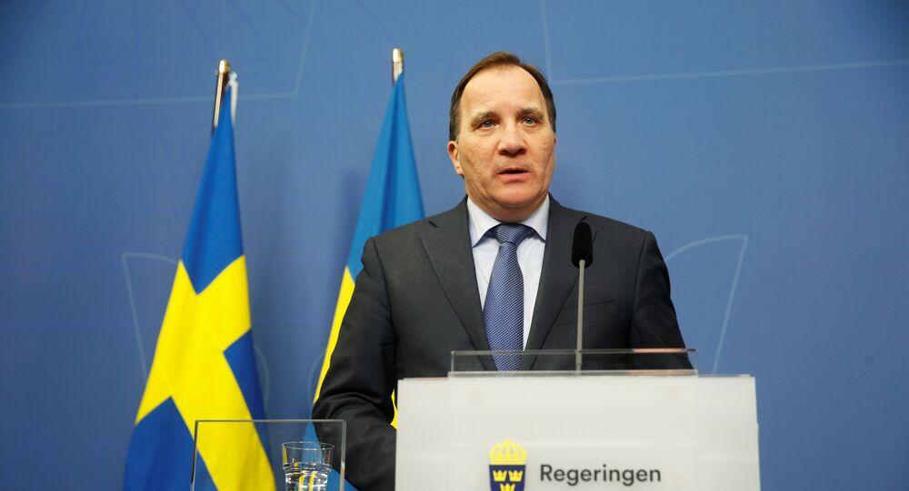 Stefan Lofven, primer ministro sueco