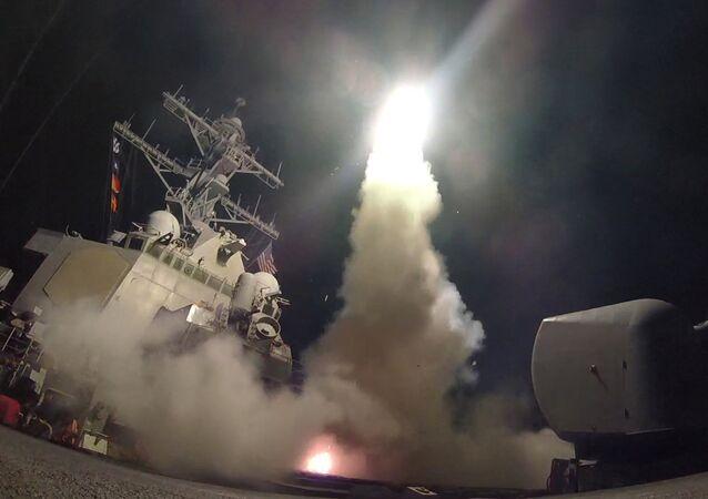 Ataque de EEUU contra Siria