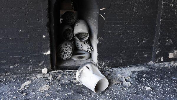 Consecuencias del ataque de EEUU sobre la base aérea de Shairat - Sputnik Mundo