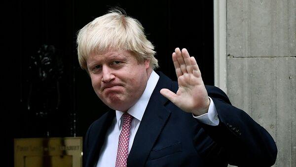 Boris Johnson, canciller de Reino Unido - Sputnik Mundo