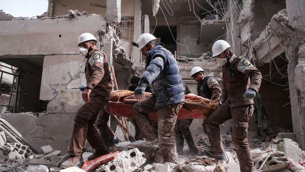 Cascos Blancos en Siria (archivo) - Sputnik Mundo