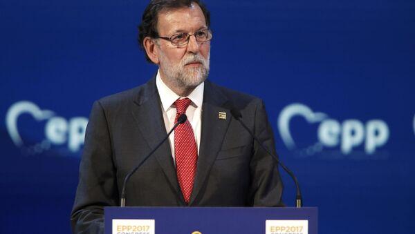 Mariano Rajoy, primer ministro de España (archivo) - Sputnik Mundo