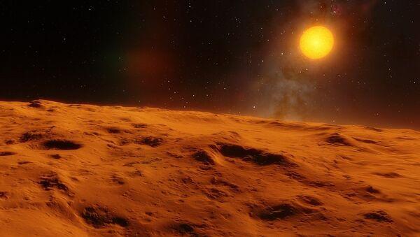 Un objeto espacial (imagen referencial) - Sputnik Mundo