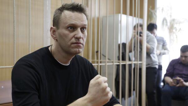 Russian opposition leader Alexei Navalny - Sputnik Mundo