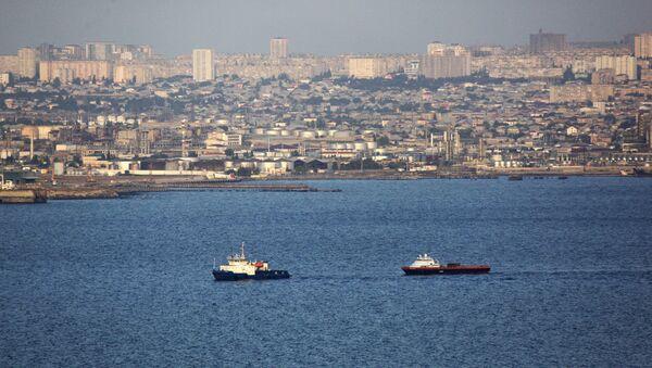 Mar Caspio en Bakú - Sputnik Mundo