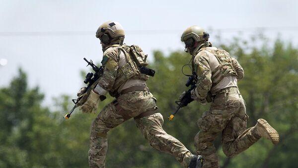 Militares estadounidenses, foto de archivo - Sputnik Mundo
