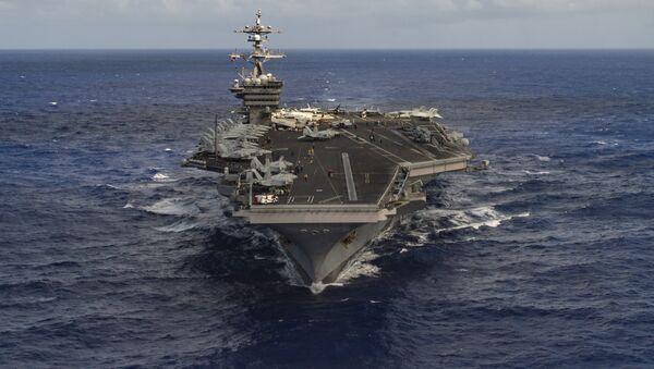 Portaviones estadounidense USS Carl Vinson (archivo) - Sputnik Mundo