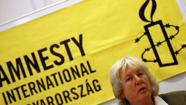 Amnistía Internacional - Sputnik Mundo