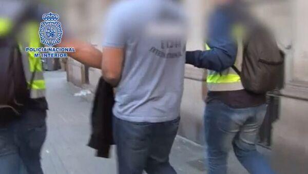 La detención del programador ruso Levashov en España - Sputnik Mundo