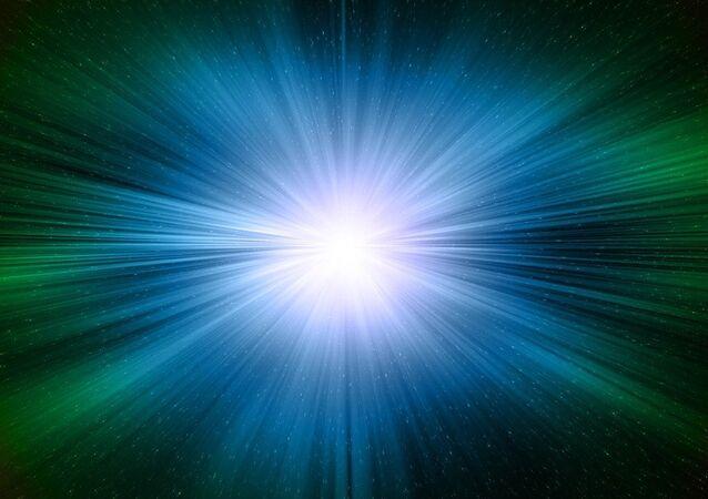 Velocidad de la luz (imagen referencial)