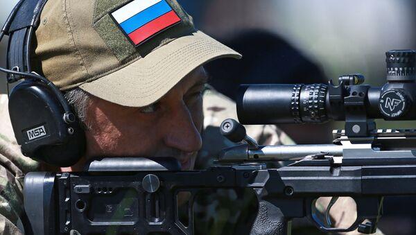 Competiciones de francotiradores (archivo) - Sputnik Mundo