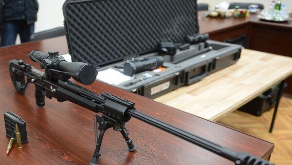 El innovador fusil de francotirador Tochnost (Precisión, en español) - Sputnik Mundo