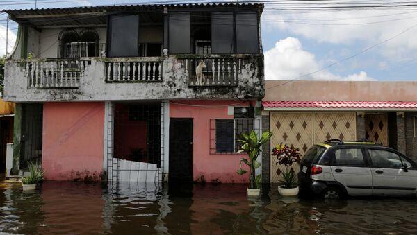 Inundacíon en Ecuador - Sputnik Mundo