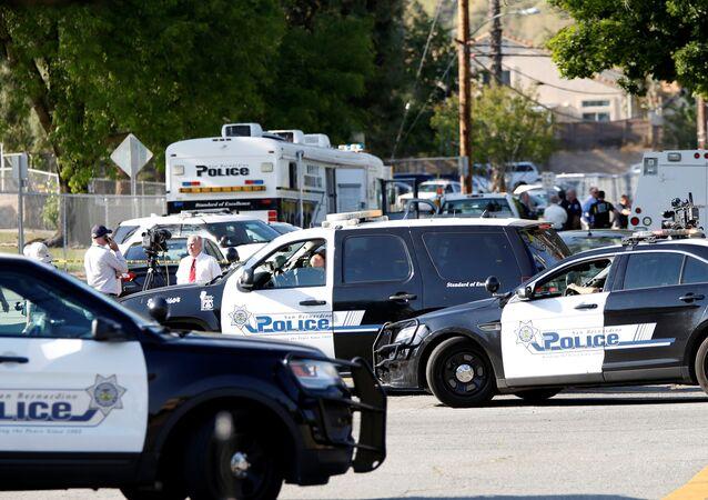 Policía en EEUU (archivo)