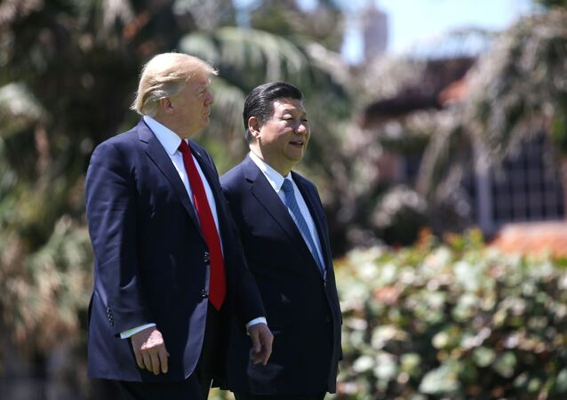 Presidente de EEUU, Donald Trump, y presidente de China, Xi Jinping