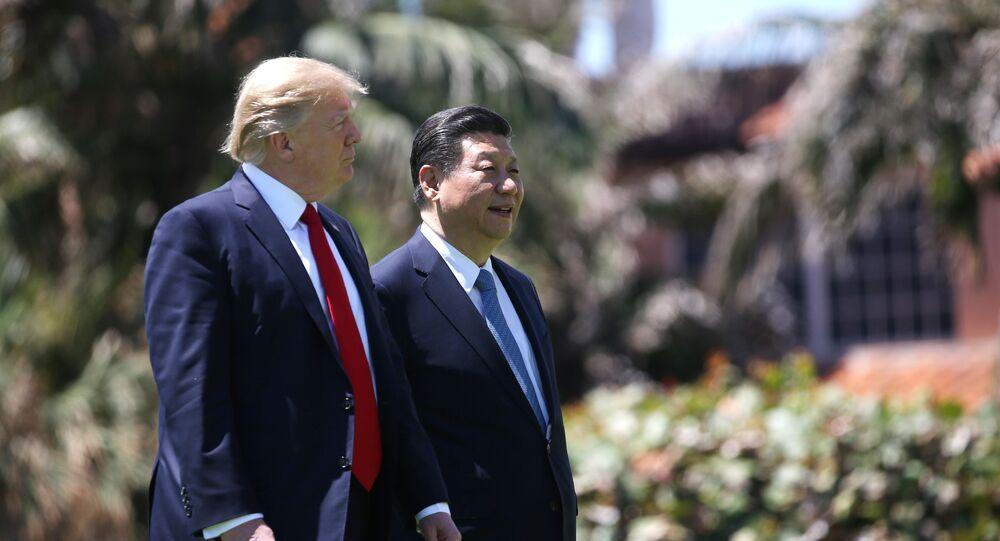 Presidente de EEUU, Donald Trump, y presidente de China, Xi Jinping (archivo)