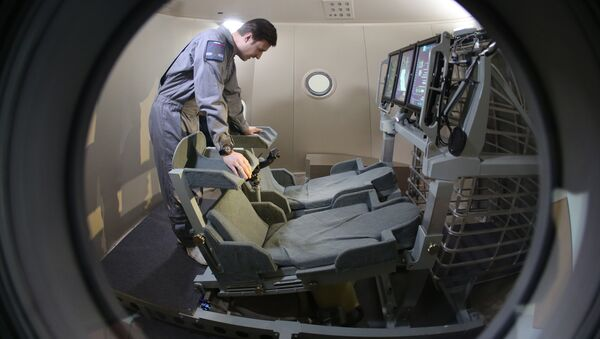 Modelo de la nueva nave espacial Federátsiya - Sputnik Mundo