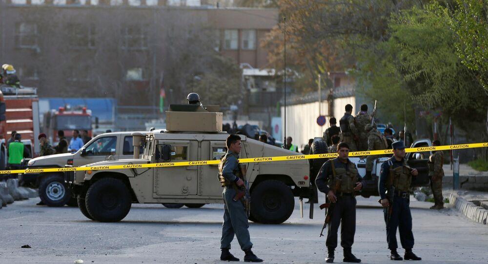 La Policía en el lugar de un atentado (archivo)