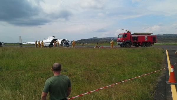 Helicóptero de la ONU realiza aterrizaje forzoso en el Congo - Sputnik Mundo